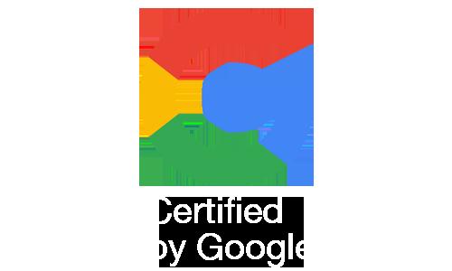 Googleから選ばれました